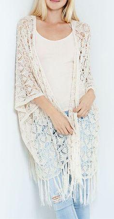 Crochet Sienna Cardigan