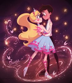 Starco partner 👫 the best animation Cute Disney Wallpaper, Cute Cartoon Wallpapers, Cartoon Shows, Cartoon Art, Star E Marco, Starco Comic, Star Force, Star Butterfly, Cool Animations