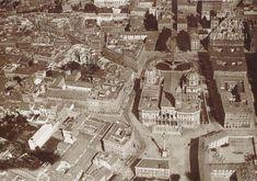 Roma dall'alto (1918) 13 foto | Roma Ieri Oggi Santa Maria Maggiore, Italy Tours, Old City, Bed And Breakfast, Old Photos, Paris Skyline, Rome, City Photo, Antique