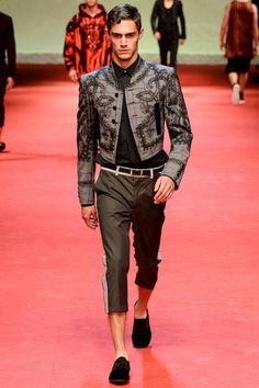 Dolce & Gabbana | Spring 2015 Menswear Collection | Style.com