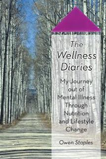 The Wellness Diaries takes readers on a unique roller coaster journey through the eyes of a paranoid college student while battling mental illness, to the darkness of planning suicide, to a remarkable recovery.  It offers an account of the author's experience of mental illness-early symptoms, diagnosis, battle with medications, and a plan to end the pain.