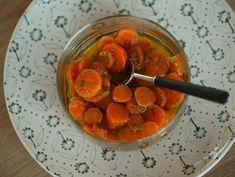 Spanish marinated carrots: zanahorias aliñadas