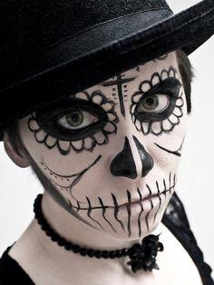 sugar skull makeup ideas halloween Makeup women