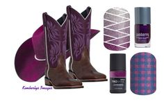 """Boots and Jams - Jamberry Nails"" by kspantongroup on Polyvore featuring Bailey Western and Laredo"
