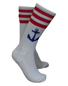 Anchor Socks by Adam Block Design | Custom Greek Apparel & Sorority Clothes | www.adamblockdesign.com