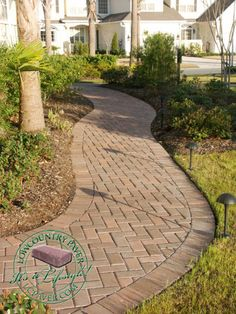 10 front walkways for maximum curb appeal | front walkway, walkway ... - Patio Walkway Ideas
