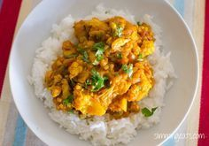 chicken and cauliflower curry | Slimming Eats - Slimming World Recipes