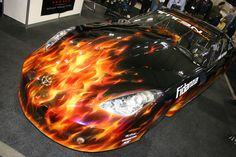 How To Customize Your Used Car Friendly Car Tips Pinterest - Custom vinyl decals for rc carsimages of cars painted with flames true fire flames on rc car