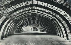 Wilhelm Kreis, Eingangshalle der Rheinhalle, GeSoLei, 1926