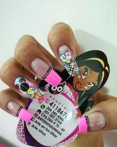 Disney Acrylic Nails, Stiletto Nails, Love Nails, Pedicure, Nail Designs, Nail Polish, Nail Art, Ideas Para, Art Nails