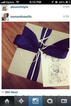 Bridesmaid Presents Wrapping