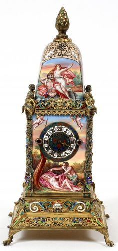 Mantle Clock, Clock Decor, Art Nouveau, Art Deco, The Rouge, Cool Clocks, Time Clock, Grandfather Clock, Antique Clocks