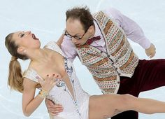 These Olympic Figure Skaters Were Photographed with Odd Faces #Figure #Skating