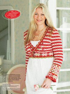 All in red - Nordic tradition in modern way...love it....Sidsel Høivik