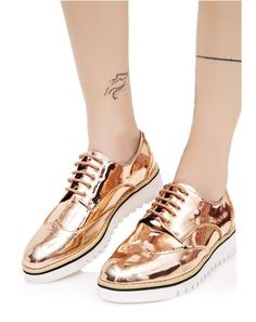 a2028c83625 Critique Platform Oxfords White Oxford Shoes