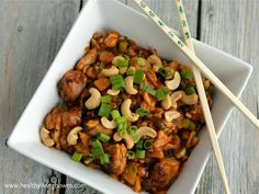 P.F. Chang's Kung Pao Chicken by Healthy Living