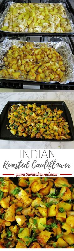 Indian Roasted Cauliflower takes roasted cauliflower to another level. This easy-to-prepare dish is delicious with its sweet, sour, salty, spicy flavors.
