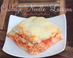Wow! This turned out great. I made a small batch to taste test, but as soon as dinner was over, I made a large pan and put it in the freezer for an easy dinner with friends. Protein Noodles, Low Carb Noodles, Cabbage Lasagna, Cabbage Casserole, Gluten Free Lasagna, Low Carb Lasagna, Healthy Lasagna, Low Carb Casseroles, Cabbage Recipes