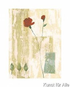 Anonymous - Red Rose I