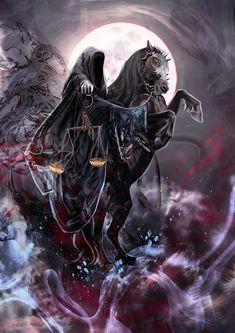 Dariu-s art — The Four Horsemen of the Apocalypse. Commissions...