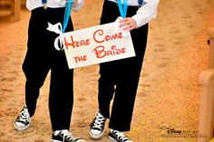 """Here comes the bride"" sign #Disney  Cricket - Disney Fine Art & Photography"
