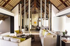 Cheval Blanc Randheli Hotel in The Maldives by Architect Jean-Michel Gathy