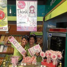 Martin-Martin: Por cada compra de un producto de su línea pink-think se dona un 10% del importe a la asociación lucha contra el cáncer de mama.