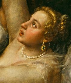 Titien (Détail) Le viol de Lucrèce