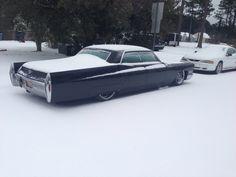 My 68 sitting in a winter wonder land. Wonder Land, Winter Wonder, Cadillac, Lol, Fun