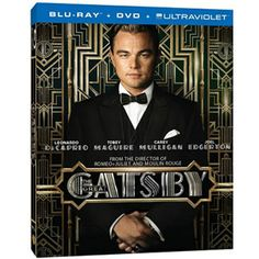 The Great Gatsby (Blu-ray + DVD + UltraViolet) (Walmart Exclusive) (Widescreen)