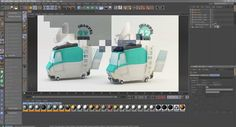Squad Car and News Van - UV Mapping and Texture Painting