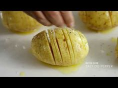 Hasselback potatoes |  Potato dishes |  Bama