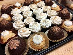 Mini bundts and cupcakes