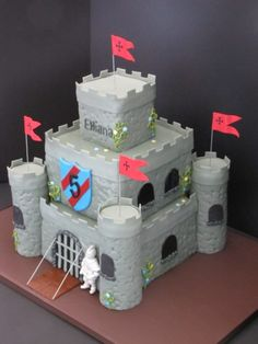 Medieval Castle Birthday Cake