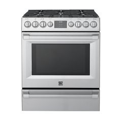 Kenmore Pro 5.1 cu. Ft. Self-Clean Gas True Convection Range #72583 - GoodHousekeeping.com