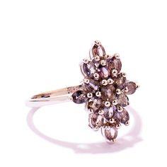Tanzanian Colour Change Sapphire Silver Ring | EDDS60 | Gemporia