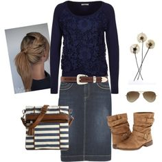 Country Style, but swap the boots for something a little more country :-)