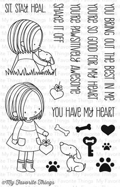 BB You Have My Heart              My Favorite Things stamp                $15.99