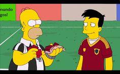La España corrupta de 'Los Simpson' triunfa en Youtube