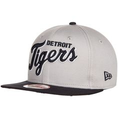 Detroit Tigers New Era Flip Up Team Redux 9FIFTY Snapback Adjustable Hat -  Gray 9cf4267df767