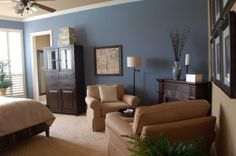latte sherwin williams | Sherwin Williams Bracing Blue and Latte | paint colors