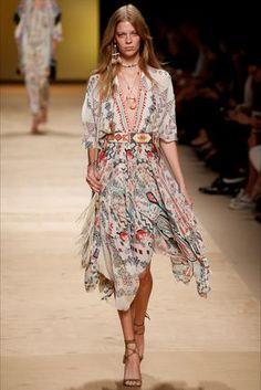 Etro Milano - Collezioni Primavera Estate Spring - Summer 2015 - Vogue