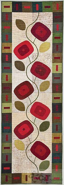 Kim Schaefer's Skinny Quilt.