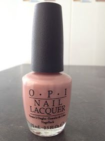 OPI Dulce de Leche Nail polish - wore this at my wedding 11 years ago and it is still a classic!