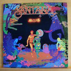 SANTANA - Amigos - Vinyl LP - Take me with you Gitane Let it shine Europa Let me