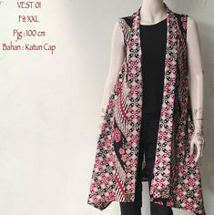 Dress Batik Kombinasi, Sewing Magazines, Shrug For Dresses, Batik Fashion, Batik Dress, Kebaya, Ankara Styles, African Dress, Ikat