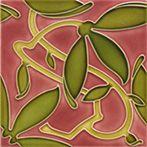 Art Nouveau tiles decorated - Art Deco F 126 Azulejos Art Nouveau, Art Nouveau Tiles, Arts And Crafts Furniture, Vintage Tile, Name Art, Decorative Tile, Art Deco Design, Tile Patterns, Antique Art