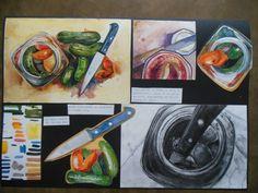 Pickles! An IGCSE Art project by Lelia