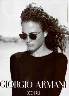 65c0f1681e3 Vintage Armani Ad   Sunglasses   Giorgio Armani - Amit Machtinger   Peter  Lindbergh  armani