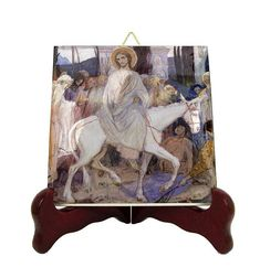 Christ's Entry into Jerusalem - a new wonderful ceramic icon inspired by a Nesterov's painting. Now on Etsy >>> https://www.etsy.com/listing/574250087 <<<  100% handmade with love and faith in Italy by @TerryTiles2014  Visit our Store. You will find a lot of very special gift ideas for your loved ones! >>> https://www.etsy.com/shop/TerryTiles2014 <<<  #christianity #christiangifts #giftideas #religiousgifts #catholic #catholicfaith #pray #handmade